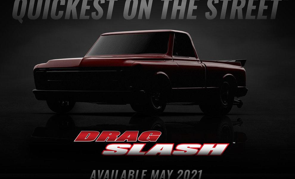 Nieuw 2021 Drag Slash | Traxxas (94076-4)