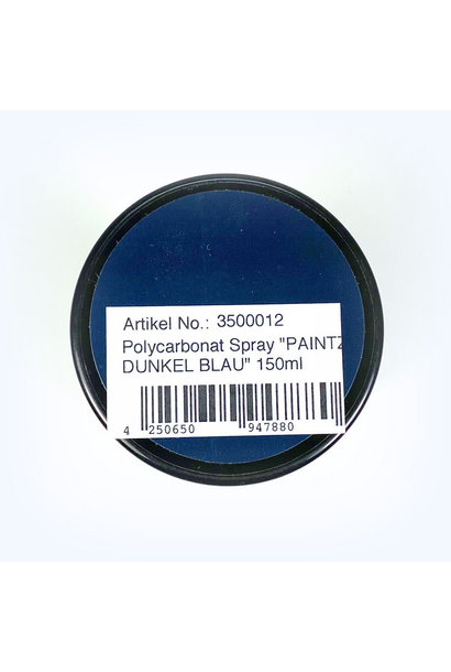 Lexan Spray DARK BLUE 150ml