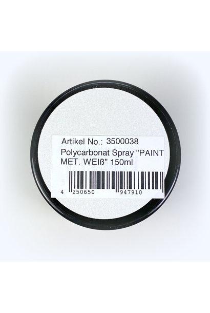 Lexan Spray MET. WHITE 150ml