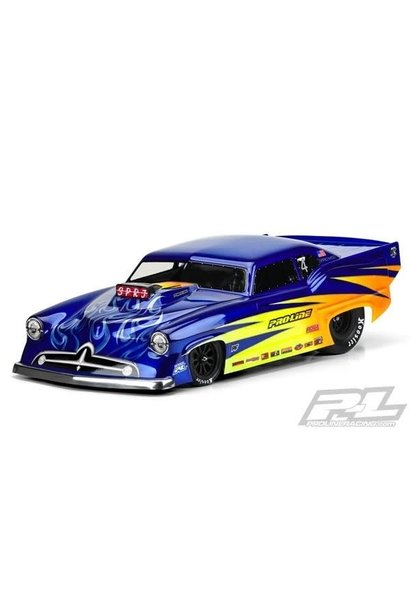 Super J Pro-Mod Clear Body for Slash 2wd Drag Car