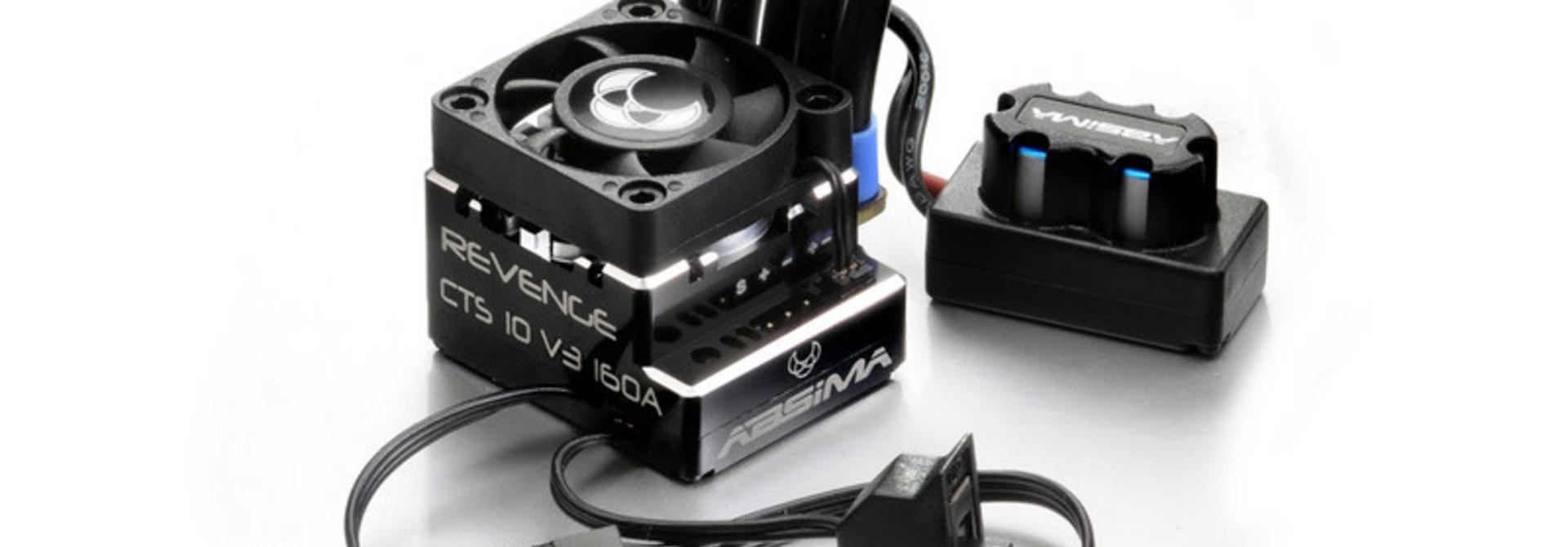 """Brushless ESC 1:10 """"Revenge CTS 10 V3"""" 160A"""