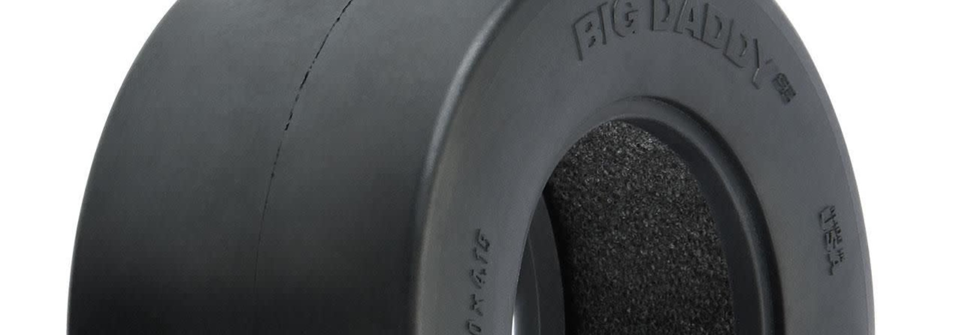 Big Daddy Wide Drag Slick SC 2.2/3.0 MC (Clay) Drag Racing Tires (2) for SC Trucks Rear