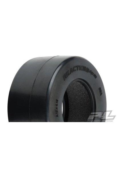 Reaction+ HP Wide SC S3 (Soft) Drag Racing BELTED Tires (2) for Pro-Line + Wide SC Wheels PR10188-203
