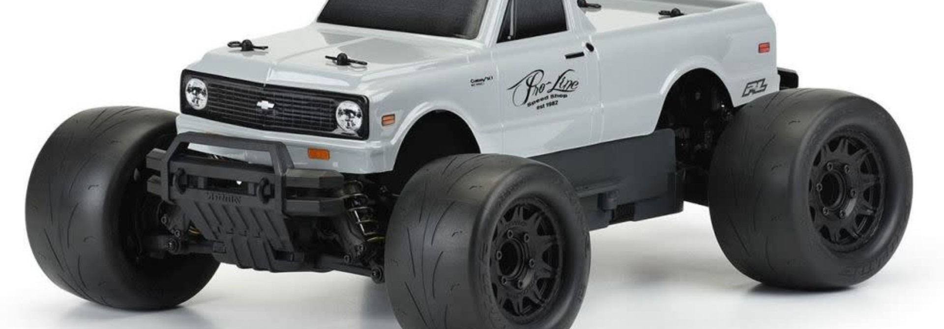 1972 Chevy® C-10™ Tough-Color (Stone Gray) Body for Stampede® & Granite™PR3251-14