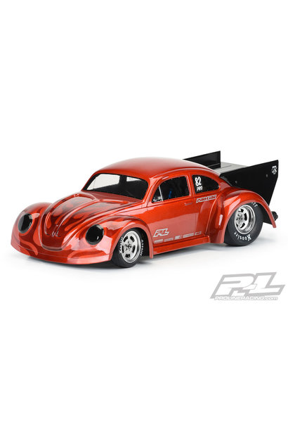 Volkswagen® Drag Bug 1:10 Clear Body for Losi® 22S™ No Prep Drag Car (requires trimming), Slash® 2wd Drag car & AE DR10 PR3558-00
