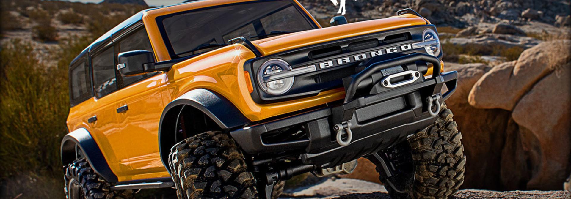 De Nieuwe Ford Bronco van Traxxas