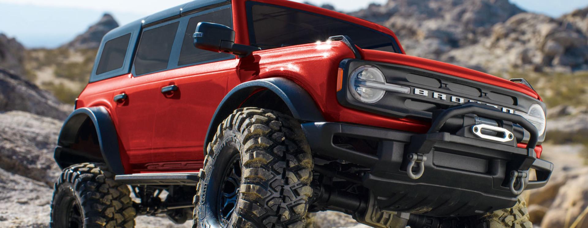 Tekening Ford Bronco 2021