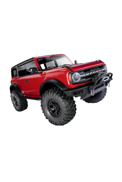 Traxxas TRX-4 Scale and Trail Crawler with 2021 Ford Bronco Body RED TRX92076-4RED