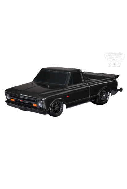 Traxxas Drag Slash: 1/10 Scale 2WD Drag Racing Truck with TQi Traxxas Link Enabled 2.4GHz Radio System & Traxxas Stability Management (TSM), Black TRX94076-4BLK
