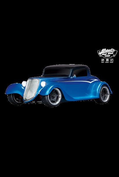 Traxxas Hot Rod Coupe 1/10 Scale AWD 4-Tec 3.0, BLUE Factory Five 1933 Hot Rod Coupe Blue TRX93044-4BLUE