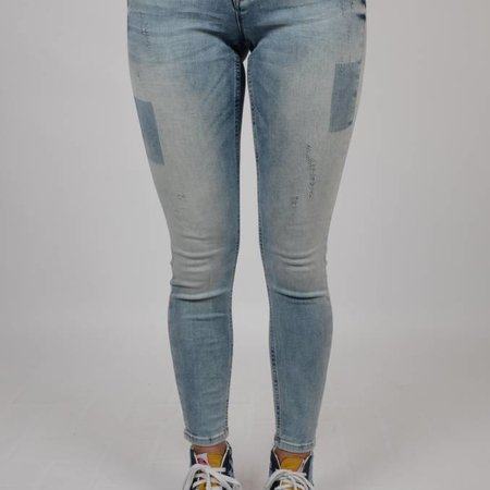 M.O.D.  Sina Skinny Ankle Danish Blue Destroyed