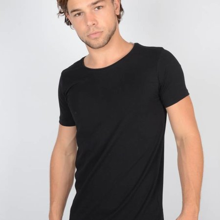 Petrol Basic Black Body Slim Fit