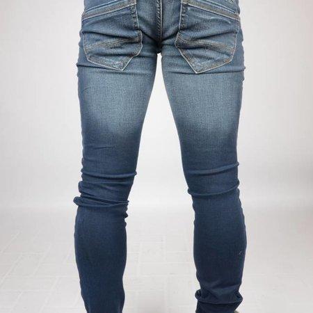 Cars Jeans Stockton Denim Blue Coated
