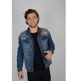 Petrol Denim Jacket 5750
