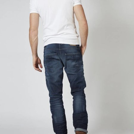 Petrol MECHANIC Men Denim Tapered 5801 Dark Vintage