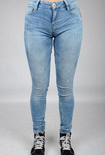 Gaby Str. Denim Light Stw Used