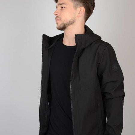 Airforce Softshell Jacket Chest Pocket True Black