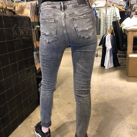 Cross Jeans Alan Cross Jeans Skinny Fit High Waist Grey