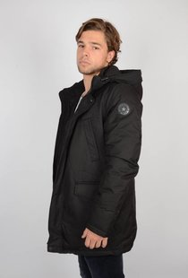 Airforce Slimfit Herringbone Parka True Black