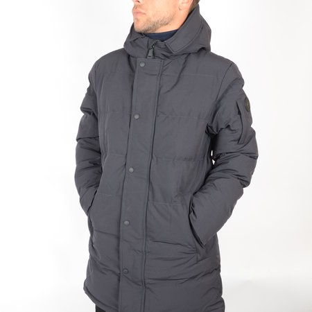 Airforce Airforce Chuck Parka Technical Softshell Dark Navy Blue