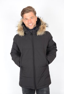 Airforce Mitchell Parka RF Technical Softchell True Black