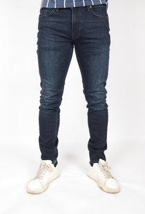 Tymore Tapered Jeans Blue Black