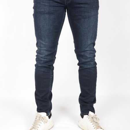 Petrol Tymore Tapered Jeans Blue Black