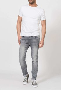 Seaham Slim Fit Dusty Silver
