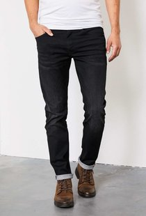 Seaham Coated Slim Fit Black