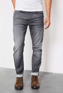 Seaham Coated Slim Fit Medium Steel