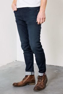 Seaham Coated Slim Fit Midnight Blue
