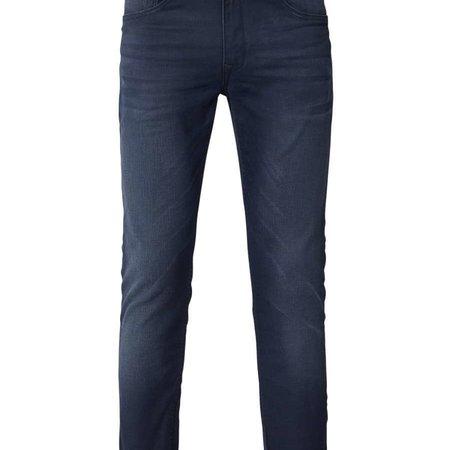 Petrol Seaham Coated Slim Fit Midnight Blue