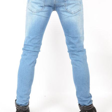 Cars Jeans Bates Denim Blue Used