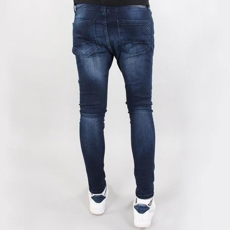 Gabbiano 82697 Ultimo Jeans Dark Blue Destroyed