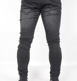 Gabbiano 82655 Ultimo Jeans Black Destroyed