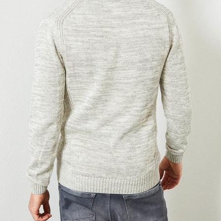 Petrol M-3000-KWC206 Knitwear Collar 0007 - Antique White