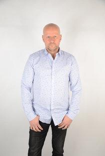 Stretch Shirt Cashmere Blue 22016635