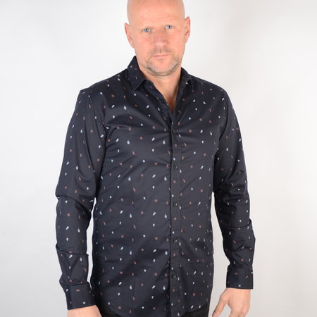 Only & Sons Poplin Shirt Dark Navy 22015474