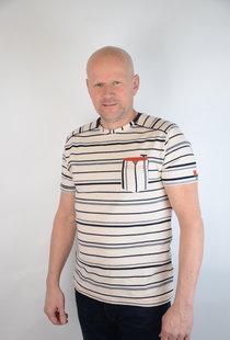 T-shirt Round NeckEcru 15215