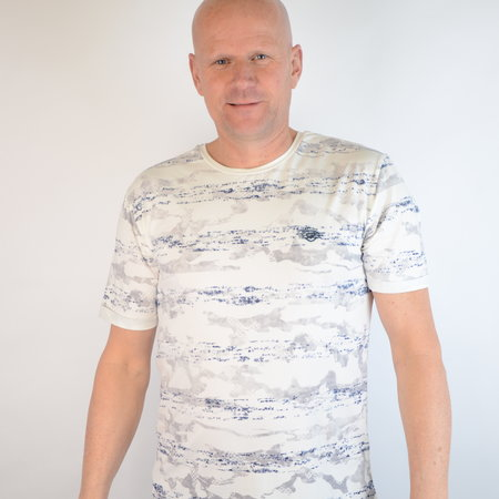 Gabbiano T-shirt Ecru 15214