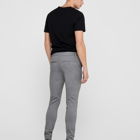 Only & Sons Onsmark Pant Noos Grey Melange GW 0209
