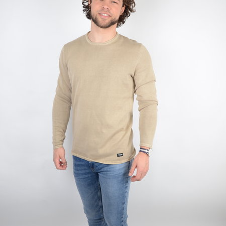Only & Sons Onsgarson Life 12 Wash Crew Knit Noos Chinchilla