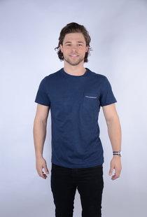T-shirt SS R-Neck Dark Petrol (TSR660)