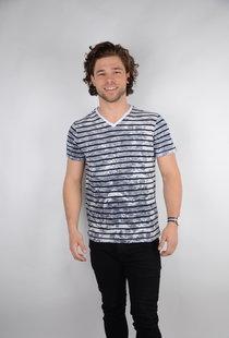 T-shirt SS V-Neck Bright White (TSV6740)