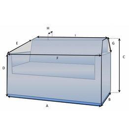 CustomX - Schutzhülle auf Maß für Loungebank Typ 10