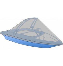 Afdekzeil speedboot met beugel