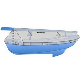 Abdeckplane für Mast Segelboot