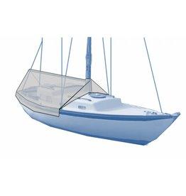 Cockpit Segelboot ohne Geländer
