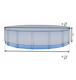 Maßgefertigte Schutzhülle Schwimmbad rund