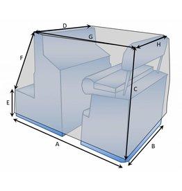 Bootzeil Maßgefertigte Schutzhülle für Konsole mit Sitz